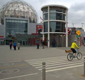 Science World and bike path